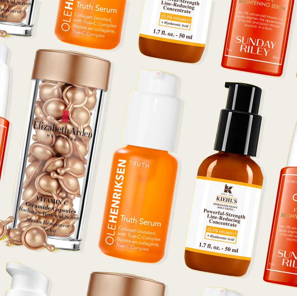 these vitamin c serums are the ultimate pick-me-up for dull skin