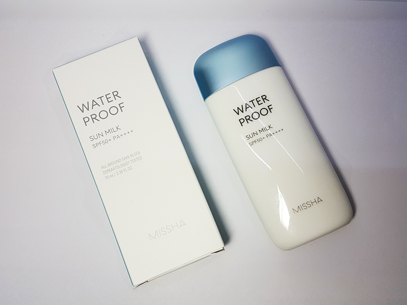 review kem chống nắng missha all around safe block waterproof